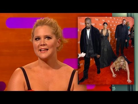 Amy Schumer DIVES in front of KIM & KANYE - The Graham Norton Show