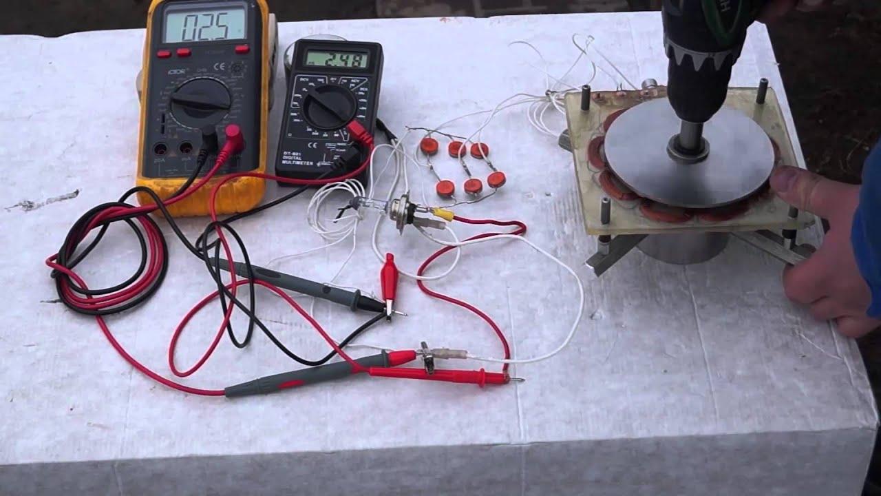 Ветровые генераторы 220 вольт своими руками