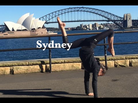 World Trivia with Traveling Handstands: Australia