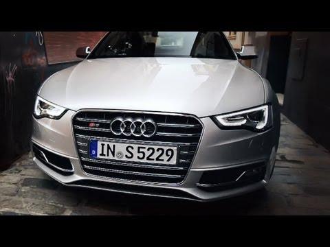 Audi A5/S5 FL 2012, тест-драйв