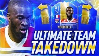 TOTS NDOMBELE TEAM TAKEDOWN VS CAPGUNTOM!! (FIFA 19)