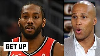 Kawhi making the Lakers a supervillain would be great for the NBA - Richard Jefferson | Get Up