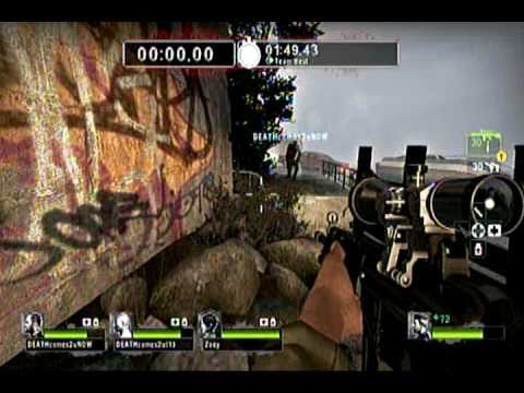 Left4Dead2 SACRIFICE,OVER THE WALL GLITCH ,(ADVENTURES OF DEATH AND CHUCKY EPISODE 7 HD