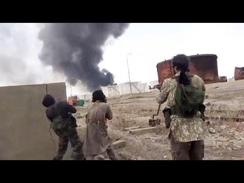 داعش يحاصر الرمادي ويخوض معارك مع الجيش العراقي في بيجي