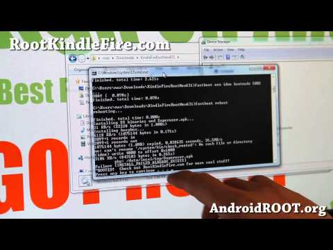 How to Root Kindle Fire on 6.3.1!