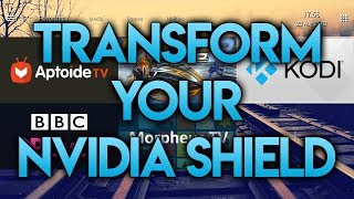 TRANSFORM THE LOOK OF NVIDIA SHIELD TV WITH THIS!