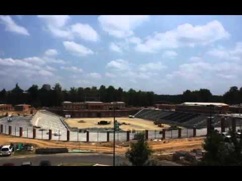 uncc richardson stadium mobile uncc stadium construction