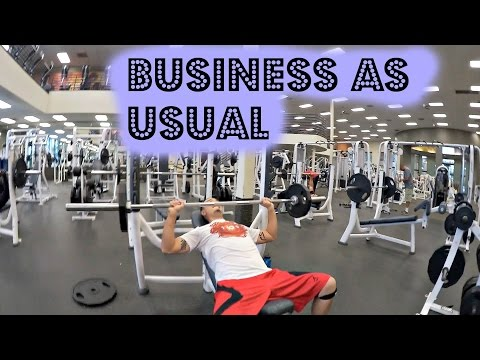 BUSINESS AS USUAL (Daily Fit Vlog #3)