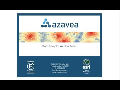 Data Analytics Webinar Series: Visualizing Impact with Maps