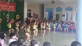Lớp chồi 2 của Trường mầm non Bình Phú  TPBT
