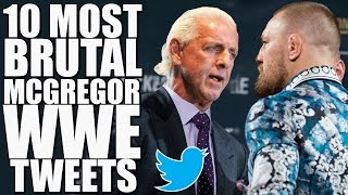 Top 10 Most Brutal WWE Tweets To Conor McGregor!