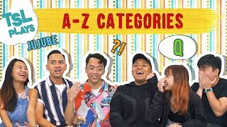 TSL Plays: A-Z Categories