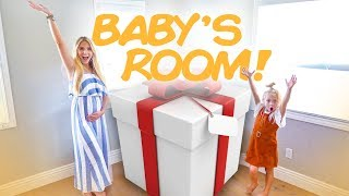 HUGE surprise finally comes in for the baby's new room!!!