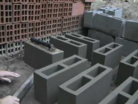 Bloquera manual para bloques huecos sin fondo parte 2 for Moldes para pavimentos de hormigon