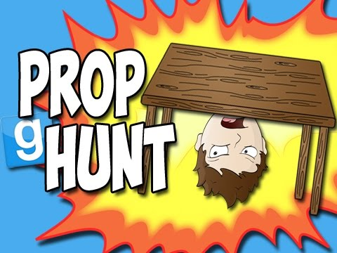 Prop Hunt with the Crew! - Best Table Ever! (Garry's Mod Funny Moments!)