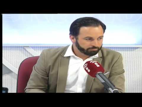 Santiago Abascal, presidente de VOX España, en