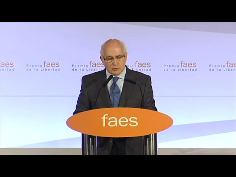 V Premio FAES de la Libertad - Javier Zarzalejos
