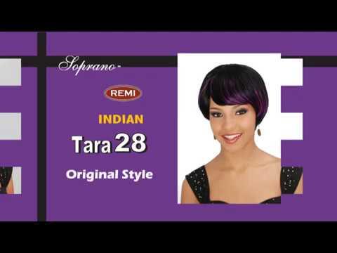 Styling Demo Using Bijoux Duby Hair and Bijoux Remi Tara Hair