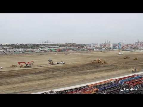 Sully-Miller Port of Los Angeles Berth 102 Rear Backland Development 2 Timelapse