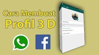 Cara Edit Profil Whatsapp Menjadi 3 D - PixelLab - Lagi Viral