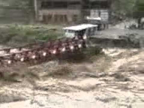 2010 Madyan District Swat Flood Footage Redbridge, Mardan, Nowshera Affected video