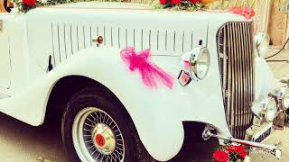 Vintage car on Rent for wedding events - CHANDIGARH - PUNJAB - 09646588201