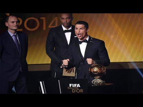 Cristiano Ronaldo Wins Ballon d'Or 2014 - Cristiano Ronaldo winner Fifa Ballon d'Or 2015