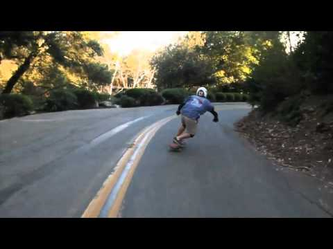 Sid Beck Testing Duval Bitches 70mm x 55mm 78a Downhill Wheels in California