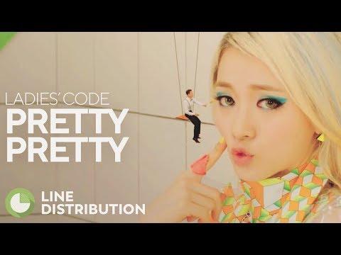 LADIES' CODE - Pretty Pretty (Line Distribution)