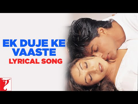 Lyrical: Ek Duje Ke Vaaste - Full Song With Lyrics - Dil To Pagal Hai