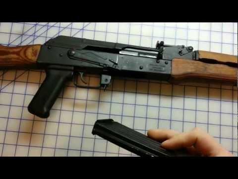 AK-47 Review Wasr 10/63 Romanian 7.62 x 39 AKM semi auto