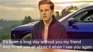 Download Lagu See you again by Charlie Puth Lyrics Full Version No Rap Gratis STAFABAND