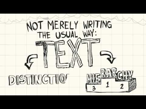 Sketcho Frenzy: The Basics of Visual Note-taking