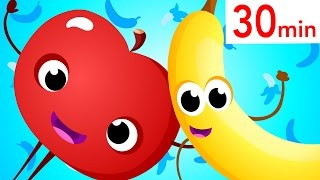 Apples & Bananas Compilation! Tongue Twister! Did You See My Tail? Baby Shark! By Little Angel