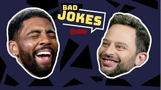 Kyrie Irving & Uncle Drew Cast | Bad Joke Telling