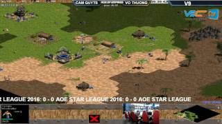 TỔNG HỢP VÒNG 9- AOE STAR LEAGUE 2016