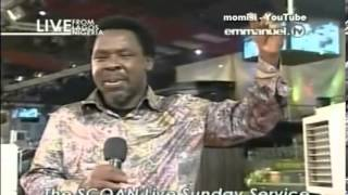 Prophet TB Joshua: Prophecy Time, Words of Knowledge Mass Prayer Sunday 17 Nov 13, Emmanuel TV SCOAN
