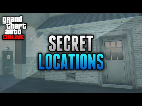 GTA 5 Hidden & Secret Locations Online! - 5 Secret Places on GTA 5 Online (GTA 5 Glitches)