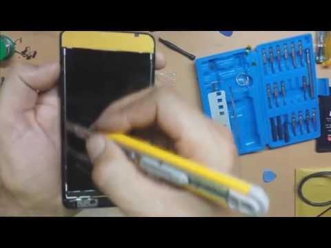 Como cambiar pantalla cristal Huawei Y635