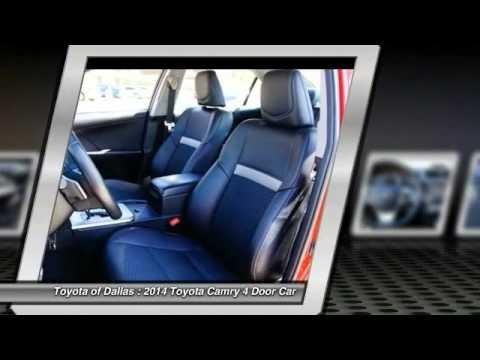 2014 Toyota Camry Dallas TX EU749570