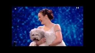 Ashleigh and Pudsey - Britains got talent 2012 Semi Final