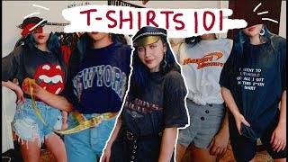 HOW TO STYLE OVERSIZED TEES ☆
