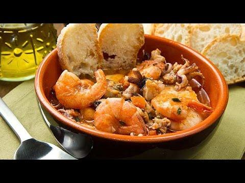 Sopa de mariscos / Cómo hacer sopas de mariscos