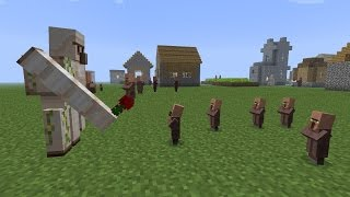 Curiosidades y trucos con los golems Minecraft Pe (Cualquier versión)