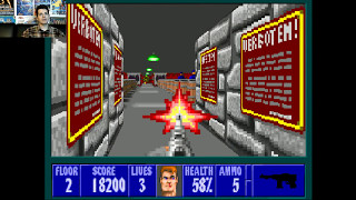 Wolfenstein 3D Episode 5: Trail of the Madman - Part 1