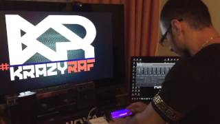 #KRAZYRAF   FOR NOOBS ! crazy play on AKAI MPC 2500