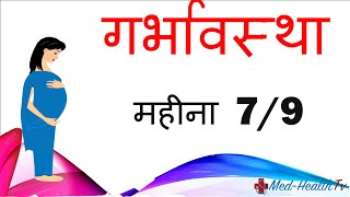 Pregnancy | Hindi | Month by Month | Month 7 | Week 25 to week 28 | गर्भावस्था - महीना 7|