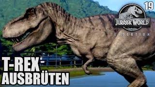 Jurassic World Evolution Deutsch #19 ► T Rex ausbrüten ◄| Let's Play Gameplay German