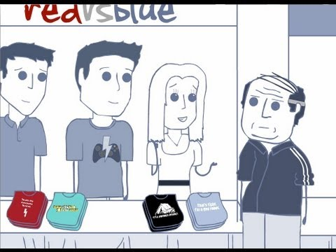 Rooster Teeth Animated Adventure Ice Cream Comic Con
