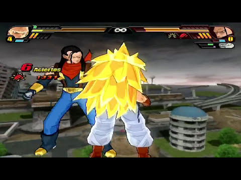 Dragon Ball Z Budokai Tenkaichi 3 Version Latino *Gotenks GT vs Villanos GT* MOD
